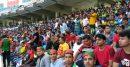 দুবাই ক্রিকেট স্টেডিয়ামে প্রবাসীদের উপছে পড়া ভিড়