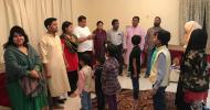 শারজাহে স্বেচ্ছাশ্রমে বাংলাদেশি বাচ্চাদের বাংলা শেখানো হচ্ছে